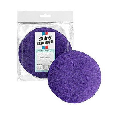 Аппликатор из микрофибры Shiny Garage Purple Pocket, цв. фиолетовый
