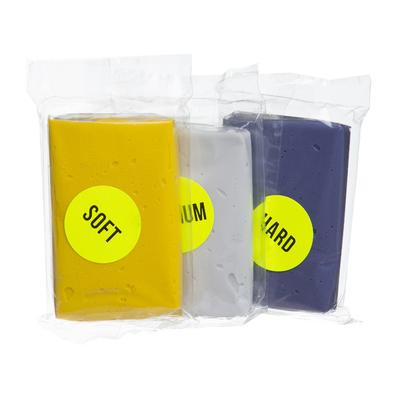 Набор глин (3 шт) для очистки ЛКП Work Stuff Trio