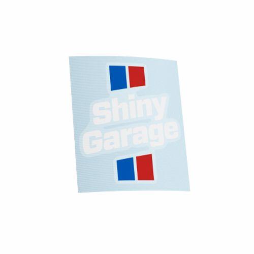 Наклейка Shiny Garage, вырезанная, разноцветная, 7x8 см
