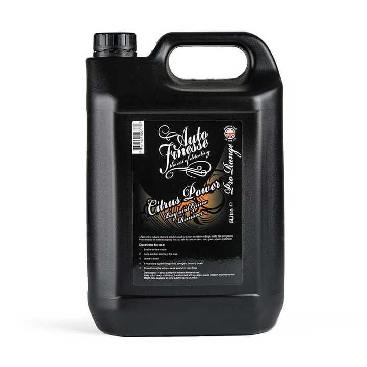 Очиститель грязи и следов насекомых Auto Finesse Citrus Power 5л