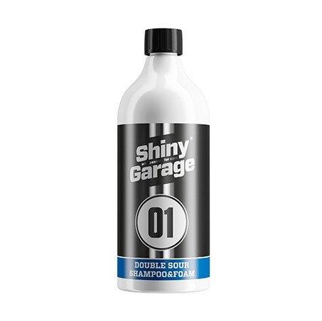 2в1 Кислотный шампунь и пена Shiny Garage Double Sour Shampoo & Foam, 1л