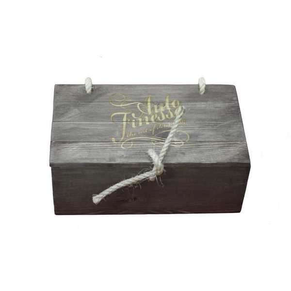 Подарочный деревянный ящик Auto Finesse, цв. коричневый