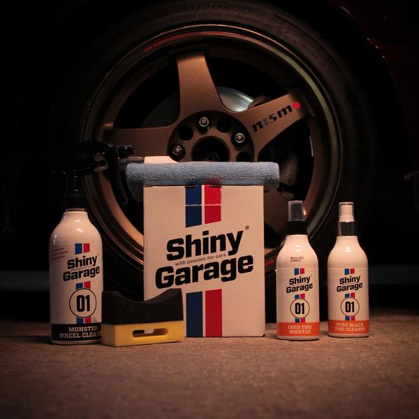 Набор для ухода за колесами Shiny Garage