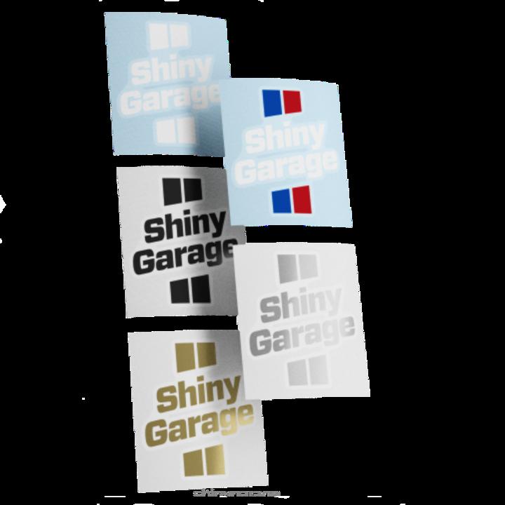 Набор наклеек Shiny Garage, вырезанные, 5 штук, 7x8 см