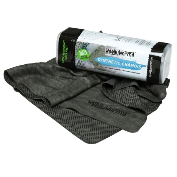 Полотенце для сушки кузова WoollyWormit, иcкусственная замша